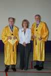 2011 Golden Graduates Jim Stratton and James Ogan with Tammy Cessna - 2