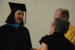 2011 Golden Graduate Jim and Colleen Stratton Meeting a 2011 Graduate