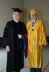 2011 Golden Graduate James Ogan with a 2011 Graduate - 2
