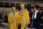 2011 Golden Graduates Jim Stratton and James Ogan at Graduation
