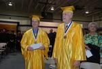 2011 Golden Graduates Jim Stratton and James Ogan at Graduation - 6