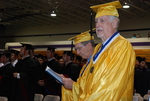 2011 Golden Graduates Jim Stratton and James Ogan at Graduation - 7