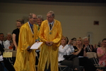 2011 Golden Graduates Jim Stratton and James Ogan at Graduation - 9