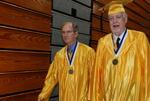 2011 Golden Graduates Jim Stratton and James Ogan at Graduation - 11