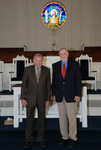 2011 Golden Graduates Paul Johnston and James Ogan in Estes Chapel