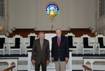 2011 Golden Graduates Paul Johnston and James Ogan in Estes Chapel - 2