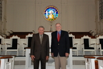 2011 Golden Graduates Paul Johnston and James Ogan in Estes Chapel - 3