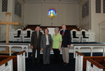 2011 Golden Graduates Paul and Betty Johnston and James and Lois Ogan in Estes Chapel