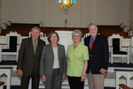 2011 Golden Graduates Paul and Betty Johnston and James and Lois Ogan in Estes Chapel - 2