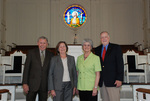 2011 Golden Graduates Paul and Betty Johnston and James and Lois Ogan in Estes Chapel - 4