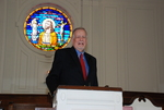 2011 Golden Graduate James Ogan in Estes Chapel - 7