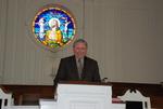 2011 Golden Graduate Paul Johnston in Estes Chapel - 6