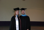 Kate and Rob Meeks at the Spring 2011 Graduation
