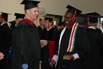 Clint Sheets and Paul Korir at the Spring 2011 Graduation