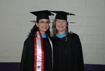 Doris Khalaf and Janice Huber at the Spring 2011 Graduation - 3