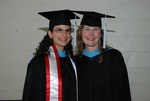 Doris Khalaf and Janice Huber at the Spring 2011 Graduation - 4