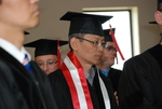 An International Student at the Spring 2011 Graduation