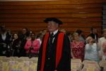 Dr. Allan Coppedge at the Spring 2011 Graduation