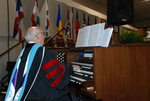 Dr. Albin Whitworth Playing at the Spring 2011 Graduation