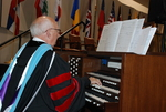 Dr. Albin Whitworth Playing at the Spring 2011 Graduation - 2