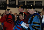 Faculty at the Spring 2011 Graduation