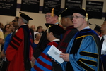 Faculty at the Spring 2011 Graduation - 2