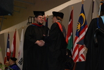 Chad Brooks and Dr. Tim Tennent at the Spring 2011 Graduation
