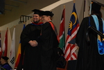 Chad Brooks and Dr. Tim Tennent at the Spring 2011 Graduation - 2