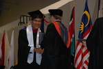 Joseph Kim and Dr. Tim Tennent at the Spring 2011 Graduation