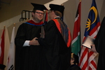Josh Toepper and Dr. Tim Tennent at the Spring 2011 Graduation