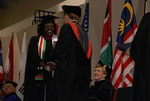Jane Lang'at and Dr. Tim Tennent at the Spring 2011 Graduation