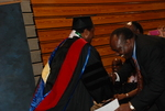 An International Student at the Spring 2011 Graduation - 5