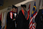 An International Student at the Spring 2011 Graduation - 7