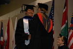 An International Student at the Spring 2011 Graduation - 9