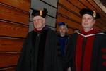 Dr. Ellsworth Kalas and Dr. Joe Dongell at the Spring 2011 Graduation