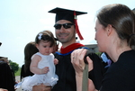 Ryan Kocak after the Spring 2011 Graduation