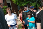 Graduates and Family after the Spring 2011 Graduation - 3
