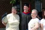 Graduates and Family after the Spring 2011 Graduation - 6