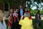 Graduates and Family after the Spring 2011 Graduation - 8
