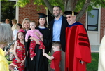 Graduates and Family after the Spring 2011 Graduation - 9