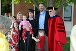 Graduates and Family after the Spring 2011 Graduation - 10