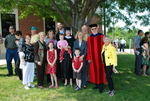 Graduates and Family after the Spring 2011 Graduation - 12