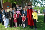 Graduates and Family after the Spring 2011 Graduation - 15