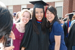 Graduates and Friends after the Spring 2011 Graduation - 2
