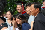 Paul Mun and Family after the Spring 2011 Graduation