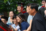 Paul Mun and Family after the Spring 2011 Graduation - 2