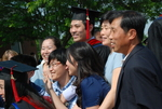 Paul Mun and Family after the Spring 2011 Graduation - 3