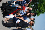 Paul Mun and Family after the Spring 2011 Graduation - 4