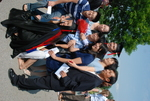 Paul Mun and Family after the Spring 2011 Graduation - 5