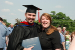 Graduates and Family after the Spring 2011 Graduation - 27
